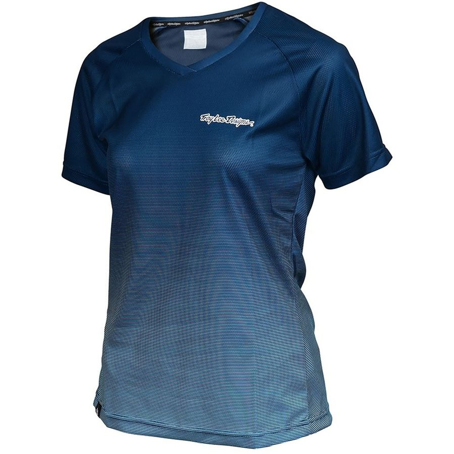 TROY LEE DESIGN WM SKYLINE DISSOLVE JERSEY par Troy lee design (Maillots vélo de montagne, Vêtements Femmes)TROY LEE DESIGN WM SKYLINE DISSOLVE JERSEY par Troy lee design (Maillots vélo de montagne, Vêtements Femmes)