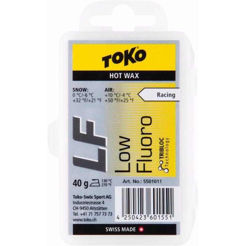 LF HOT WAX YELLOW 40G par Toko (Entretien de Ski, Toko)