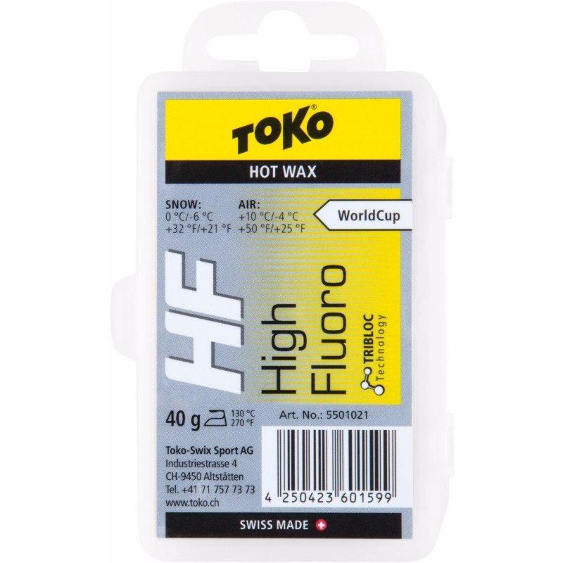 HF HOT WAX YELLOW 40G par Toko (Entretien de Ski, Toko)