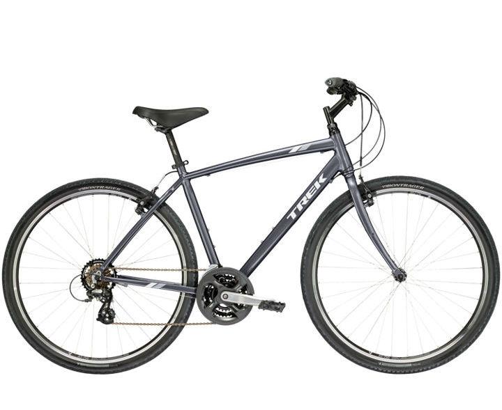 VERVE 1 par Trek (Hybride Confort, Vélos hybrides)VERVE 1 par Trek (Hybride Confort, Vélos hybrides)