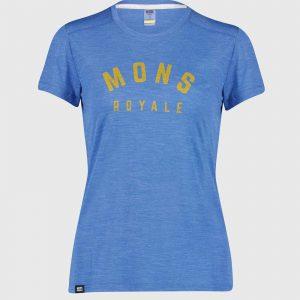 VAPOUR TEE par Mons Royale (Maillots Vélo de Montagne, T-shirts, Vêtements de vélo Femmes)