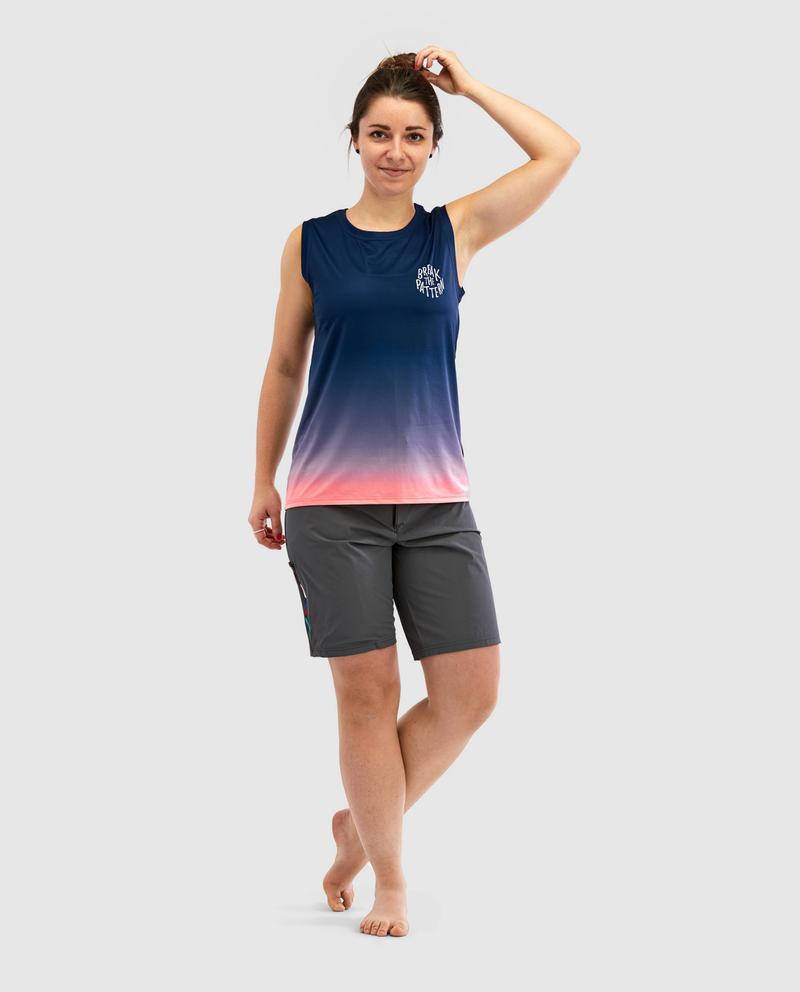 RIDING par Peppermint (Vêtements, Vêtements de vélo Femmes, Maillots Vélo de Montagne)